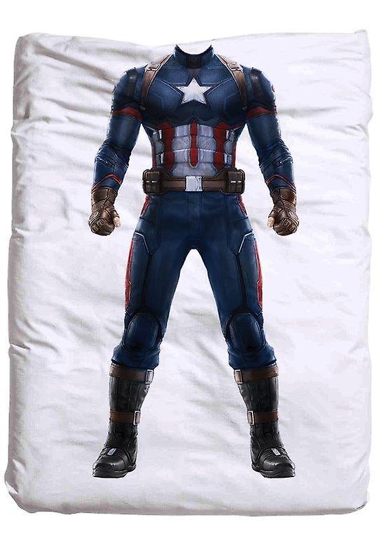 Copripiumino Capitan America.Captain America Duvet 140 X 200 Cm Fruugo United Kingdom