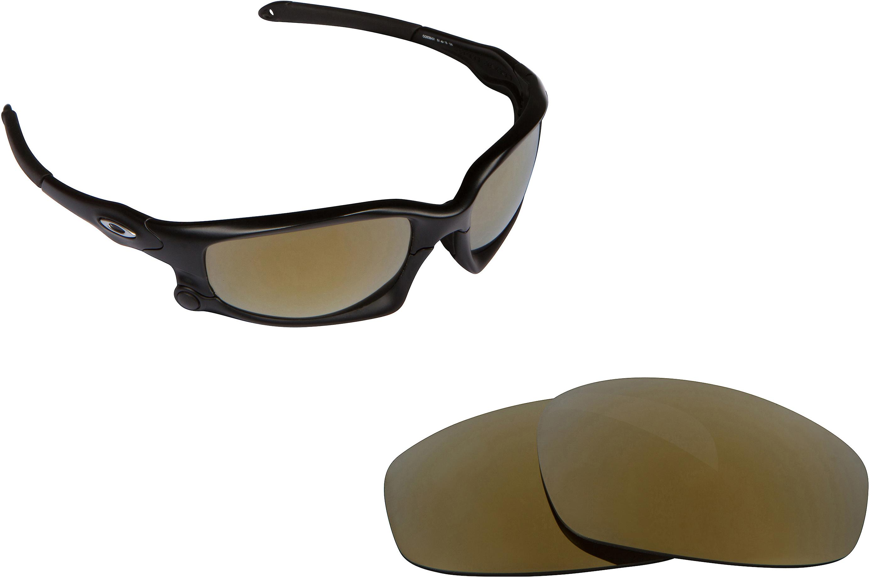 5ff54a712c7 Split Jacket Replacement Lenses Polarized Gold by SEEK fits OAKLEY  Sunglasses