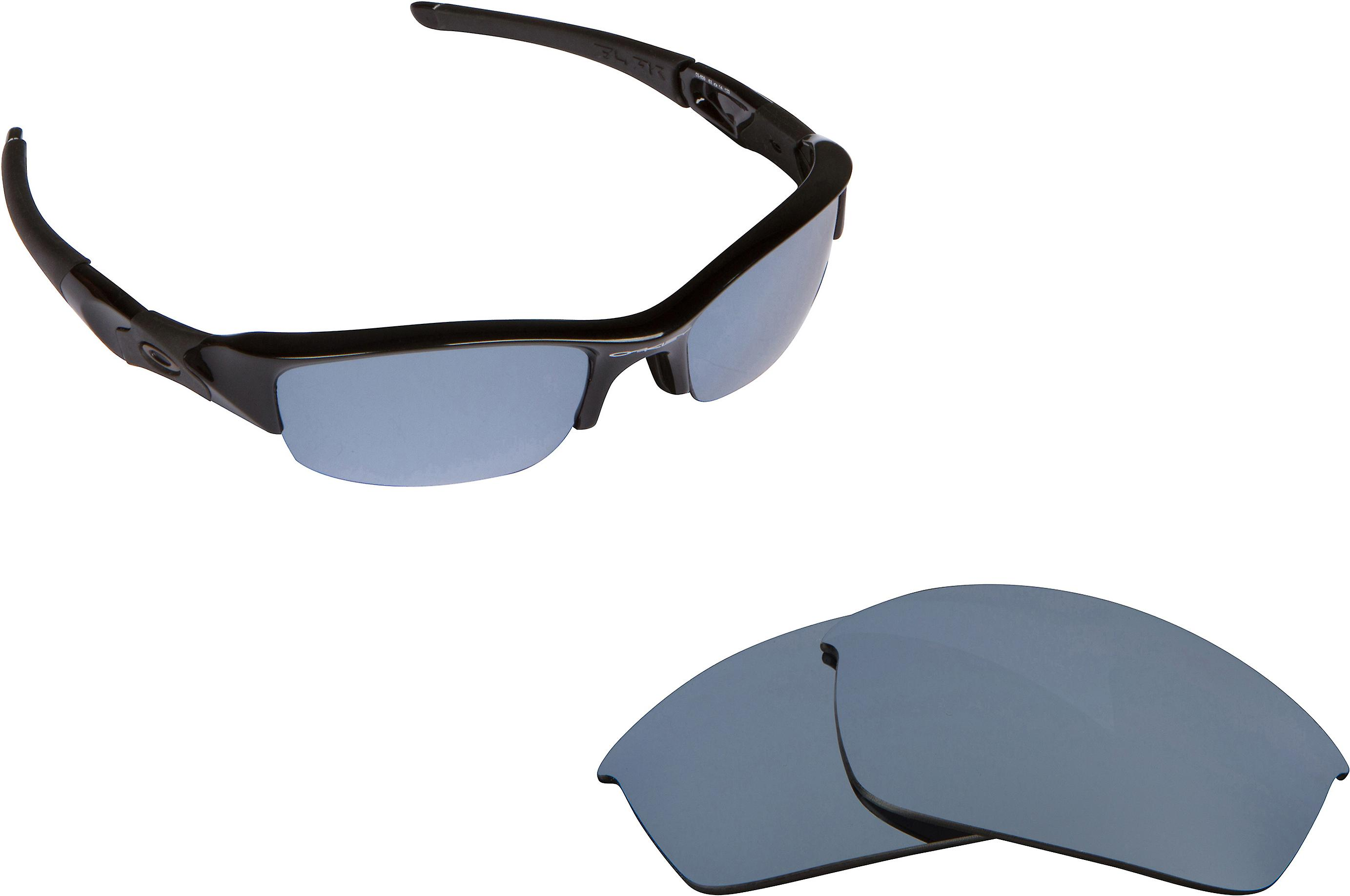 a140bb22a6 FLAK JACKET Replacement Lenses Polarized Silver by SEEK fits OAKLEY  Sunglasses