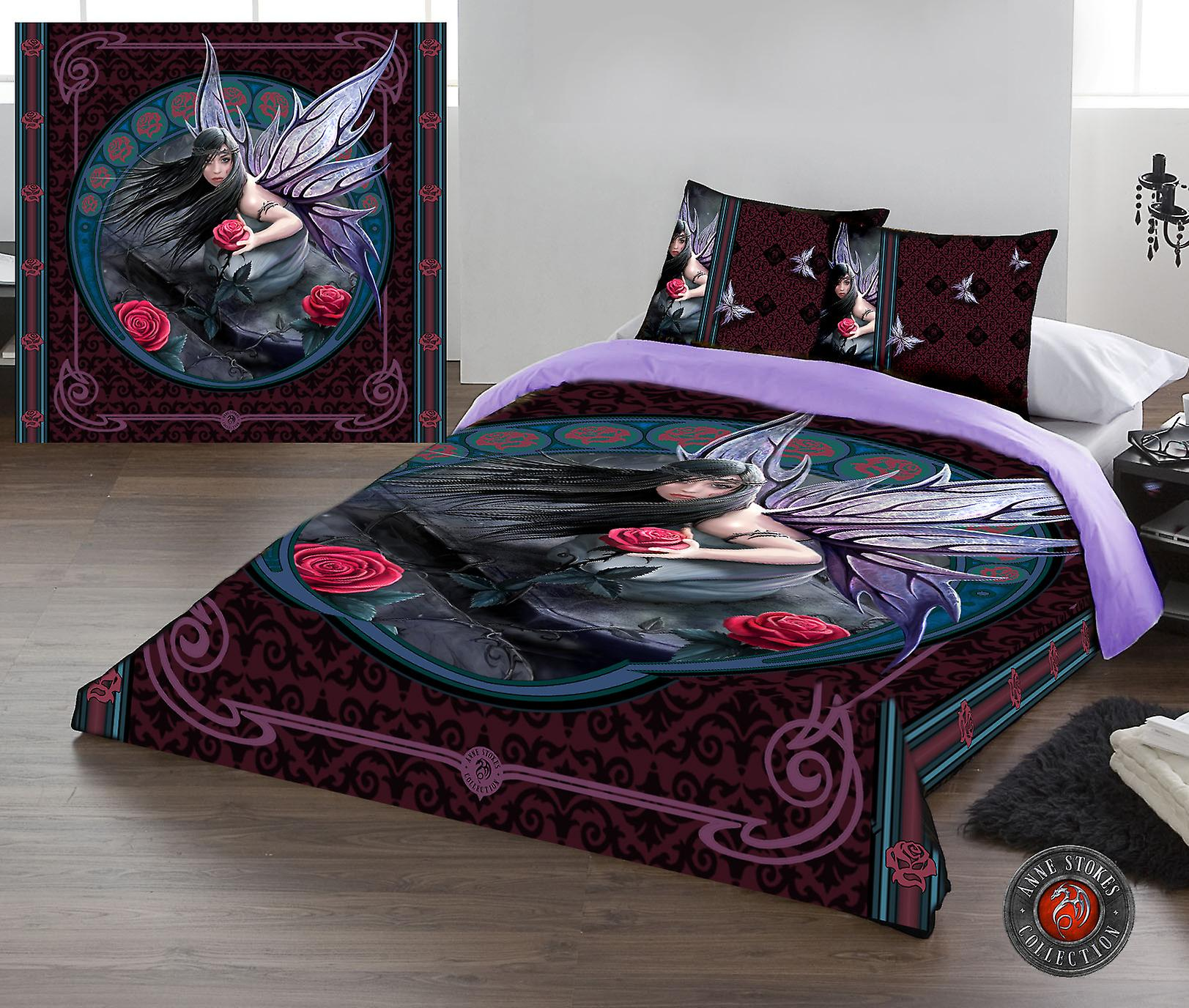 Rose Fairy Nouveau Duvet Covers Set Uk King Us Queensize Fruugo