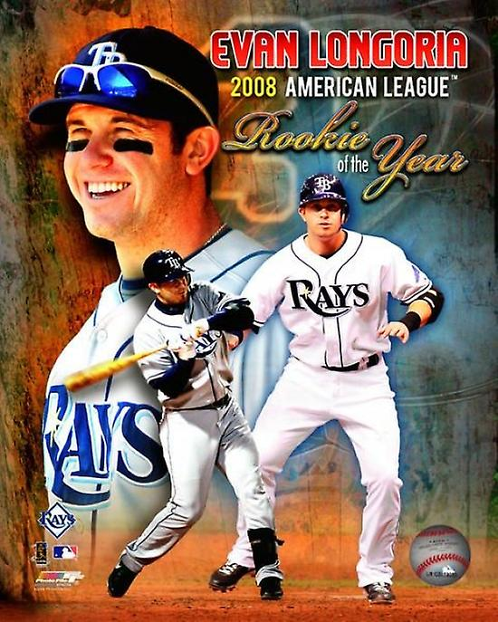 Evan Longoria 2008 American League Rookie Of The Year Portrait Plus Photo Print