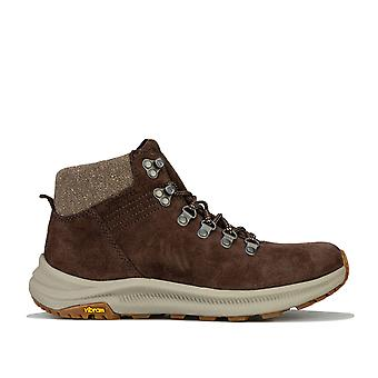 Womens Merrell Ontario Suede Mid Hiking Boots Trainers In Bracken