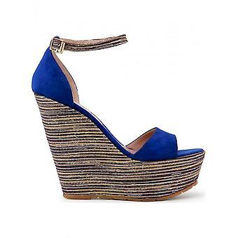 Paris Hilton-schoenen-wig pompen-3582_BLUETTE-dames-dodgerblue, goud-40