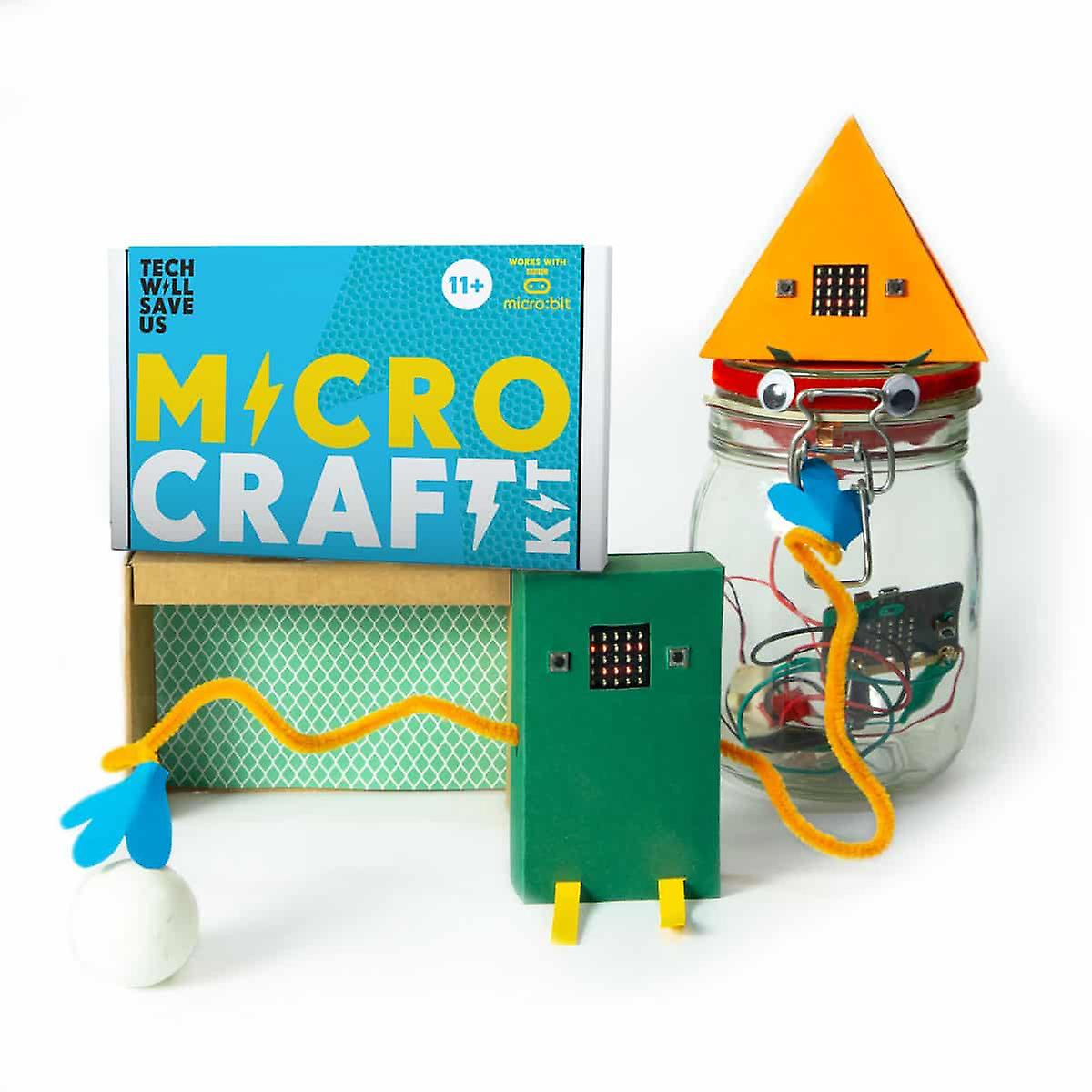 Tech Will Save Us Micro:craft Education 6 Pack | For Teachers, Workshops and Schools
