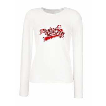 White woman long-sleeved T-shirt wtc1191 fightin whities