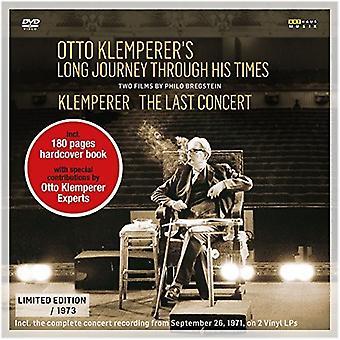 クレンペラーの長い旅を通して彼の時間 【 DVD 】 米国のインポートします。