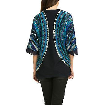 Desigual par L Women-apos;s Blue Lightweight Rocio Coat