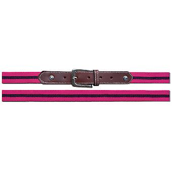 Spooks Sequin Womens Belt - Pink/navy