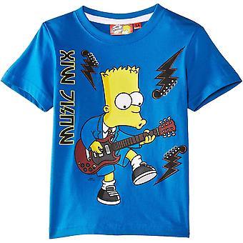 Boys Simpons EN1294 kortärmad T-shirt
