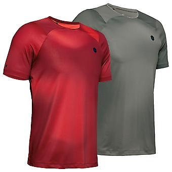 Under Armour Mens Rush HG Surge Kurzarm Infrarot atmungsaktivet T-Shirt