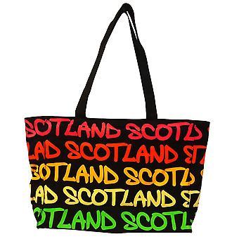 Robin Ruth Mary Scotland Rainbow Bag Large Black/fushia