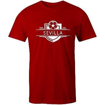Siviglia 1958 Stabilito Distintivo Distintivo Calcio T-Shirt
