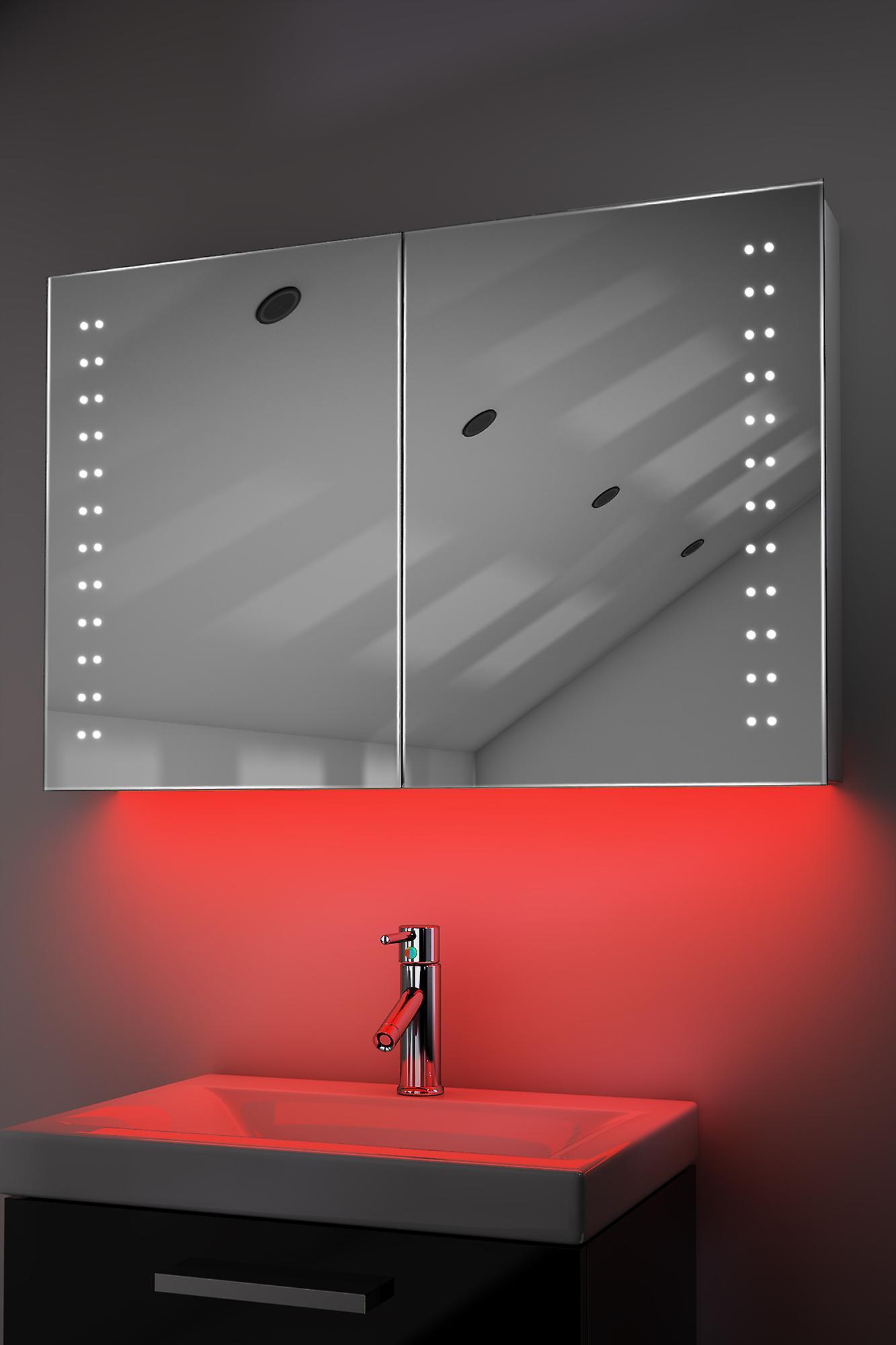 Armoire avec RGB, capteur & interne rasoir k370rgb de désembuage