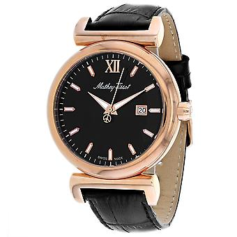 Mathey Tissot Men's Black Dial Watch - H410PLN
