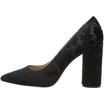 Pour La Victoire Womens CECEEV Velvet Pointed Toe Classic Pumps