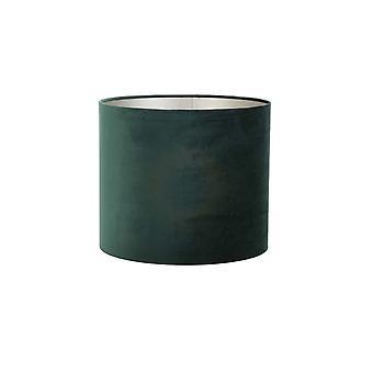 Light & Living Cylinder Shade 35x35x30cm Velours Dutch Green
