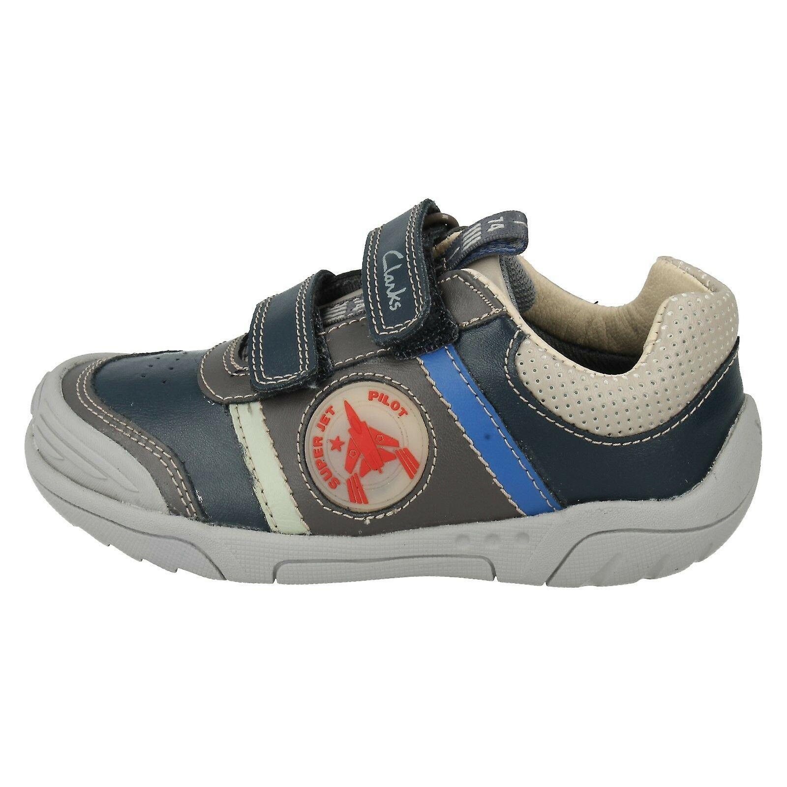 Jongens Clarks Casual schoenen Wing tijd CZFx6L