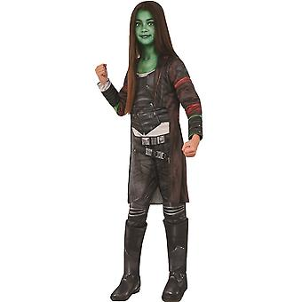 Gamora Deluxe Çocuk Kostümü