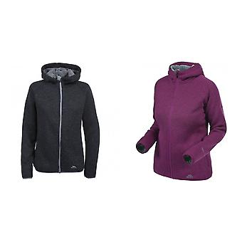 Trespass Womens/Ladies Valeo Full Zip Fleece Hoodie Jacket