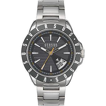 Versus Versace VSPET0619 Men's Arthur Silver Tone Wristwatch