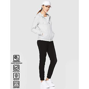 VÅRD AV PUMA Women's Terry Cuffed Joggers, Black, EU M (US 8)
