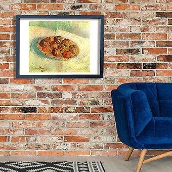 Vincent Van Gogh - Still Life with Basket of Apples Poster Print Giclee