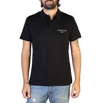 Versace Jeans Original Män året runt Polo - Svart Färg 35228