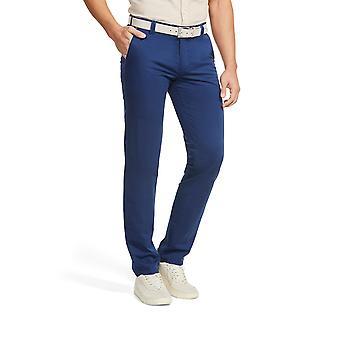 Meyer New York Cotton Trouser Royal Blue