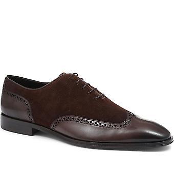Jones Bootmaker Mens Archibald Wing-Tip Oxford Schoenen