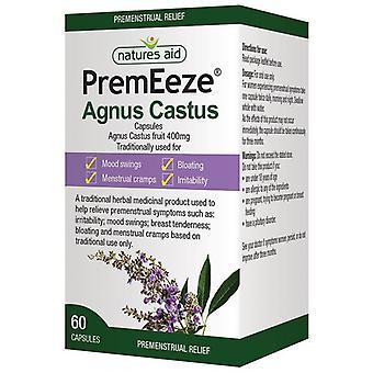 Nature's Aid PremEeze Agnus Castus 400mg Capsules 60 (126920)