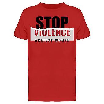 Stop Violence Against Women  Tee Men's -Image by Shutterstock