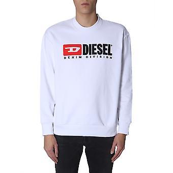 Diesel 00shep0catk100 Miehet&s Valkoinen Puuvilla Collegepaita