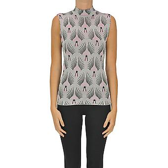 Paco Rabanne Ezgl246012 Women's Silver Other Materials Top