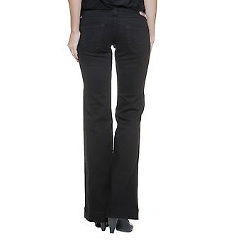 True Religion Pants DISCO CANDICE W/CRYSTAL HW Wash BLACK02 NEW