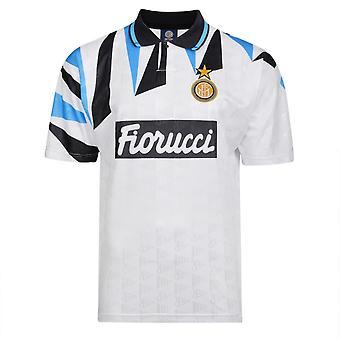 Score Draw Internazionale 1992 Away Shirt