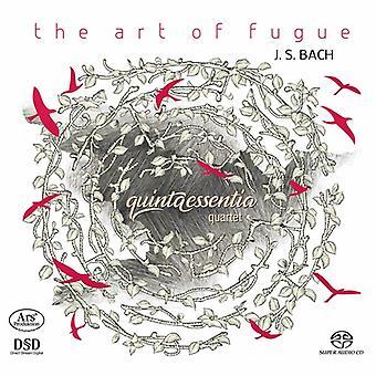 Bach*J.S. / Quintaessentia Quartet - Art of Fugue [SACD] USA import