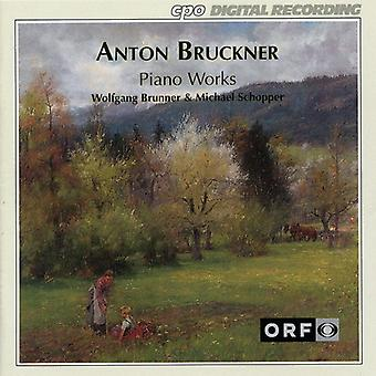 A. Bruckner - Bruckner: Oeuvres pour Piano [CD] USA import