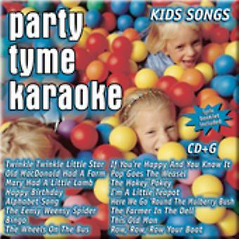 Party Tyme Karaoke - Kids Songs [CD] USA import