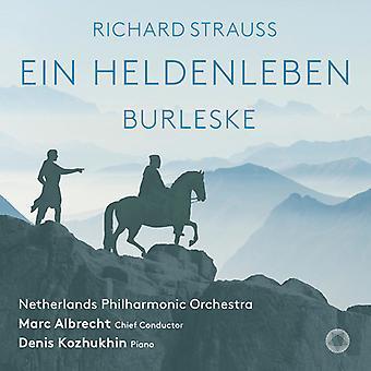Strauss - Ein Heldenleben / Burleske [SACD] USA import