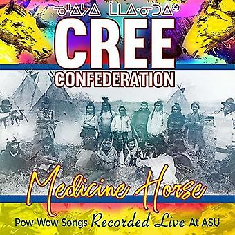 Medicine Horse - Pow-Wow Songs Recorded Live At [CD] USA import