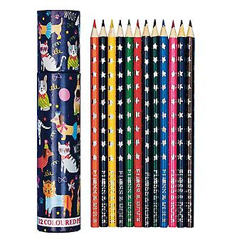 Pets colouring pencil set