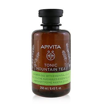 Apivita Tonic Mountain Tea Shower Gel With Essential Oils 250ml/8.45oz