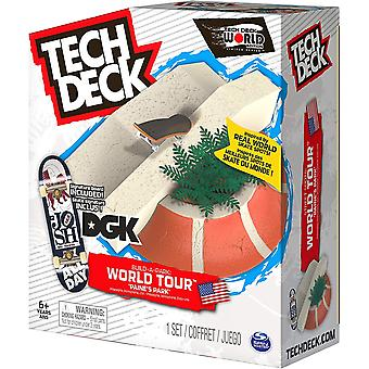 Tech Deck Build a Park World Tour  Paine's Park