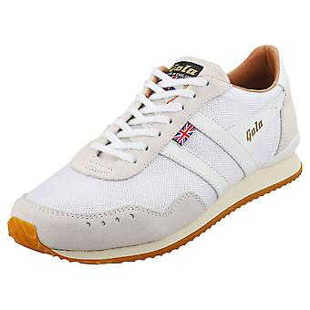 Gola Track 317 -made In England- Mens Casual Trainers in White White