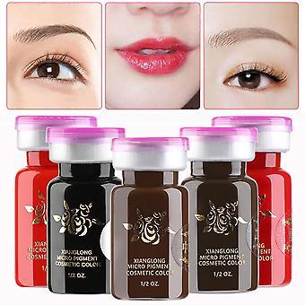 Eyebrow Tattoo Ink - Semi Permanent Eyebrow Makeup - Durable Pigment Microblading Beauty Tool