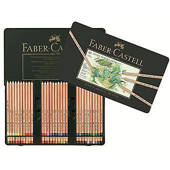 Faber Castell Pastel Pencil Pitt Metalen Portemonnee met 60 stuks