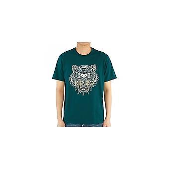 T-shirt Kenzo Classic Tiger Green
