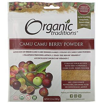 Organic Traditions, Camu Camu Berry Powder, 3.5 oz (100 g)