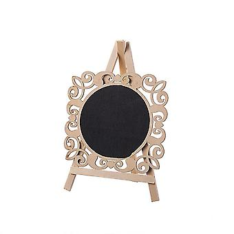Mini Stand Blackboard with Easel Lace Shape