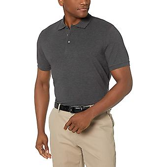 BUTTONED DOWN Men's Classic-Fit Supima Cotton, Charcoal Heather, Taille 3.0